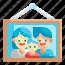 family, photo, picture, decoration, portrait
