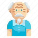 grandfather, senior, elderly, grandpa, people