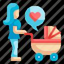 stroller, pushchair, motherhood, baby, pram