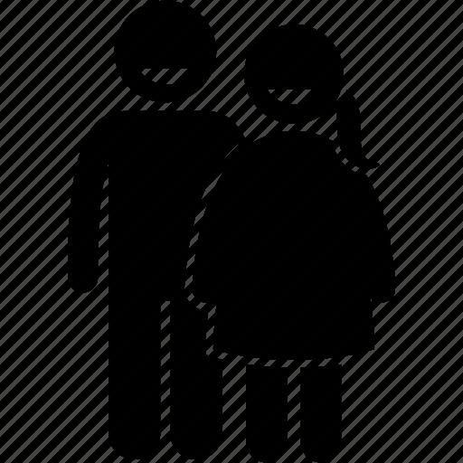 brother, child, children, happy, minor, sister, small icon