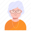 avatar, elder, grandma, grandmother, mother, old, senior