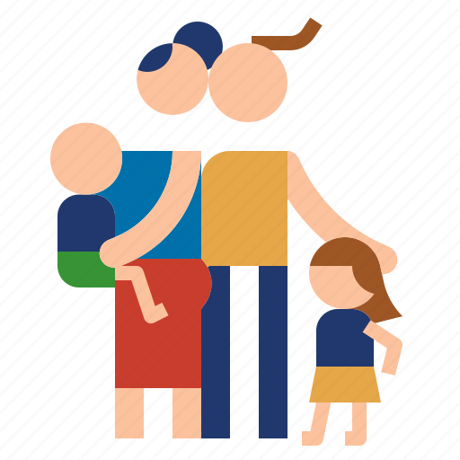 child, family, father, mother icon