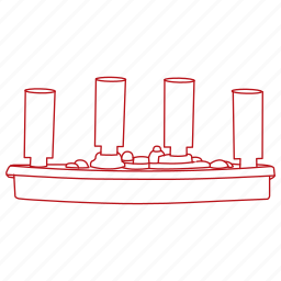 battleship, family, games, pegs, play, ship, sunk icon