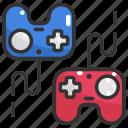 electronic, game controller, gamepad, gamer, gaming, joystick, technology icon