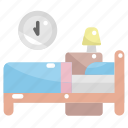 bed, bedroom, relax, room, sleep