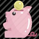 bank, cash, coin, money, piggy, save, savings