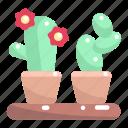 botanical, cactus, dessert, dry, nature, plant icon