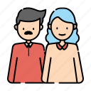 couple, family, father, mother, parent, parenting, romantic icon