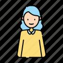 avatar, beautiful, female, mother, parent, user, woman