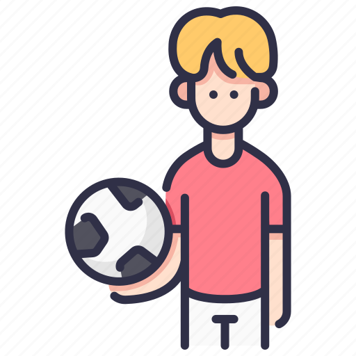 activity, ball, boy, child, football, kid, sport icon