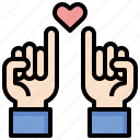 gestures, hand, hands, miscellaneous, pinky, promise icon