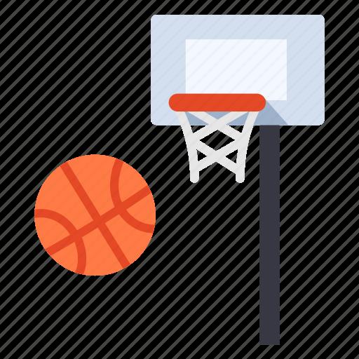 ball, basket, basketball, goal, hoop, net, sport icon