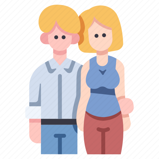 couple, female, love, male, people, relationship, together icon