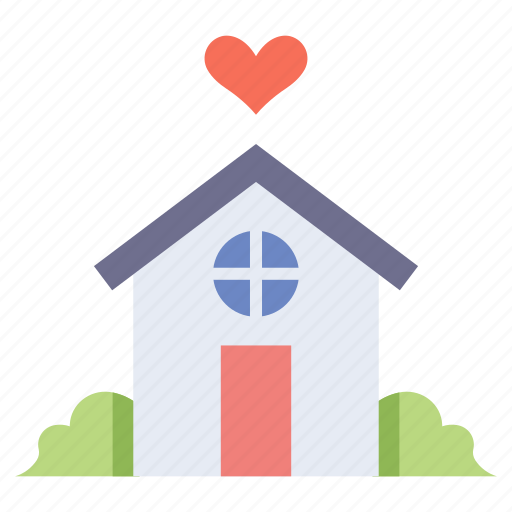family, happy, home, house, love, together icon
