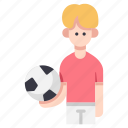 ball, boy, child, football, kid, soccer, sport icon