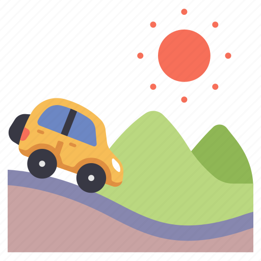 adventure, car, drive, summer, travel, trip, vacation icon