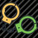 arrest, freedom limitations, handcuffs, police