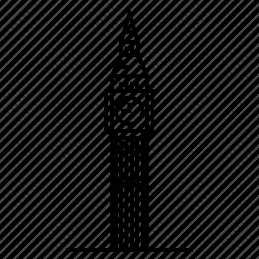 architecture, big ben, landmark, london, travel, united kingdom icon