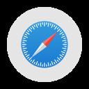 app, application, logo, mac, safari, windows icon