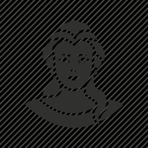 galadriel, lady, princess, woman icon