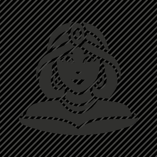 aladin, disney princess, lady, princess jasmine icon