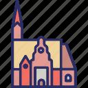 christ church, windhoek, namibia, church icon