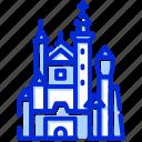 neuschwanstein, bavaria, germany, castle
