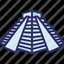 chichen itza, mexico, landmark, pyramid
