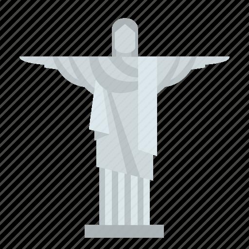 brazil, christ, redeemer, rio, rio de janeiro, statue, tourism icon