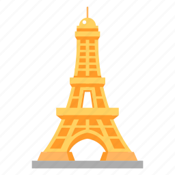 eiffel, eiffel tower, famous buildings, france, iron lattice tower, tower, travel icon
