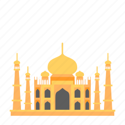 famous buildings, india, mahal, marble mausoleum, monuments, taj, travel icon