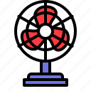 air, fan, propeller, stand fan, ventilation icon