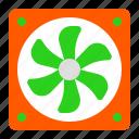 air, box fan, exhaust fan, fan, ventilation icon