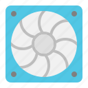 air, box fan, exhaust fan, fan, ventilation icon