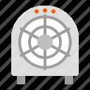air, fan, floor fan, propeller, ventilation icon