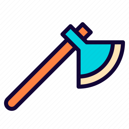 axe, fancy, game, tool, vikings, weapon icon