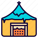 camp, fancy, game, home, house, medieval, viking icon