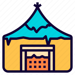 camp, fancy, game, home, house, medieval, vikings icon