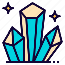 crystal, fancy, game, medieval, mineral, viking, vikings icon