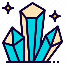 crystal, fancy, game, medieval, mineral, vikings icon