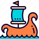 fancy, game, ship, viking, vikings icon