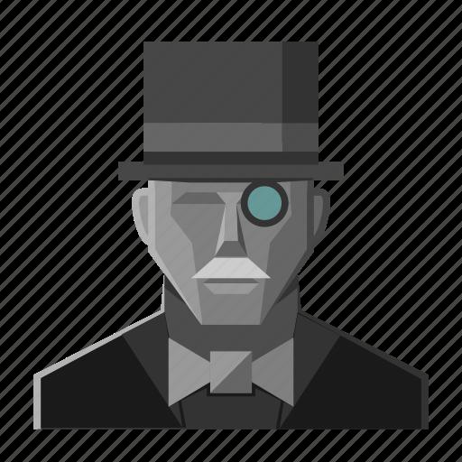 fantasy, gentleman, hat, mustace, mustache, roleplay icon