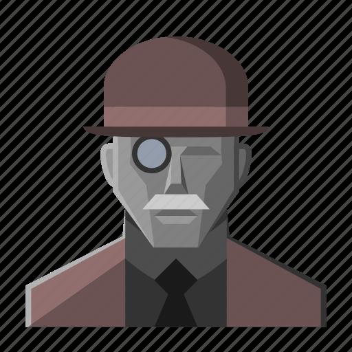 avatar, fantasy, gentleman, hat, mustache, roleplay icon
