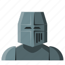 armor, avatar, fantasy, helmet, knight, paladin, warrior icon