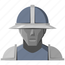 avatar, fantasy, guard, helmet, knight, roleplay, warrior icon