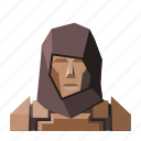 armor, avatar, fantasy, hood, knight, roleplay, warrior icon