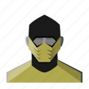 avatar, fantasy, mask, ninja, roleplay, warrior icon