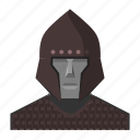 armor, avatar, chainmail, fantasy, helmet, roleplay, warrior icon