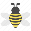 bee, bug, farm, farmland, garden, landscape, nature icon