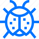 bug, farm, garden, insect, ladybug icon